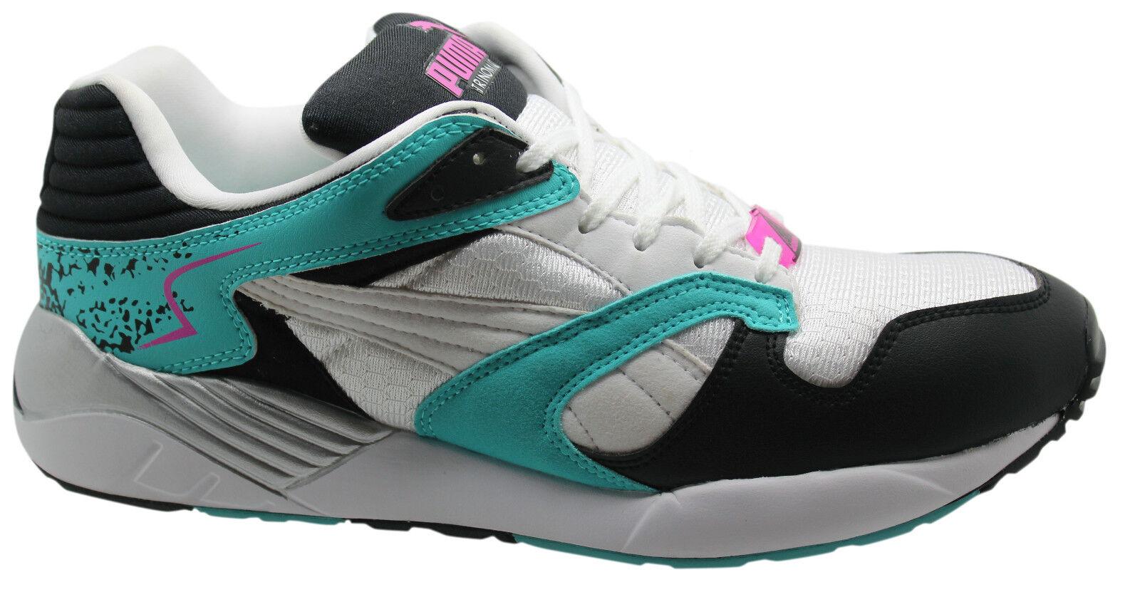 Puma Trinomic XS 850 Plus Herren Turnschuhe Schnürschuhe weiß 356143 04 D109