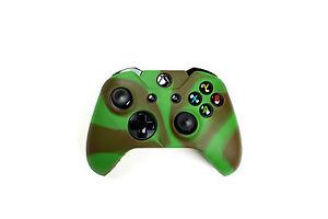 Xbox-One-Camouflage-Silikon-Schutzhuelle-Controller-Huelle-fuer-Xbox-One-Neu