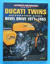 DUCATI BEVEL/  TWINS1971-1985 RESTORATION- GUIDE/ SUPER/ SCARCE BOOK