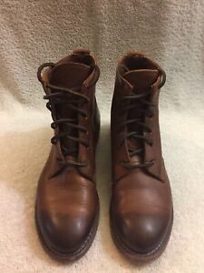 Details About Vintage Shoe Company Co Lilly Leather Rugged Oxford Chukka Boots Women 6 5 M