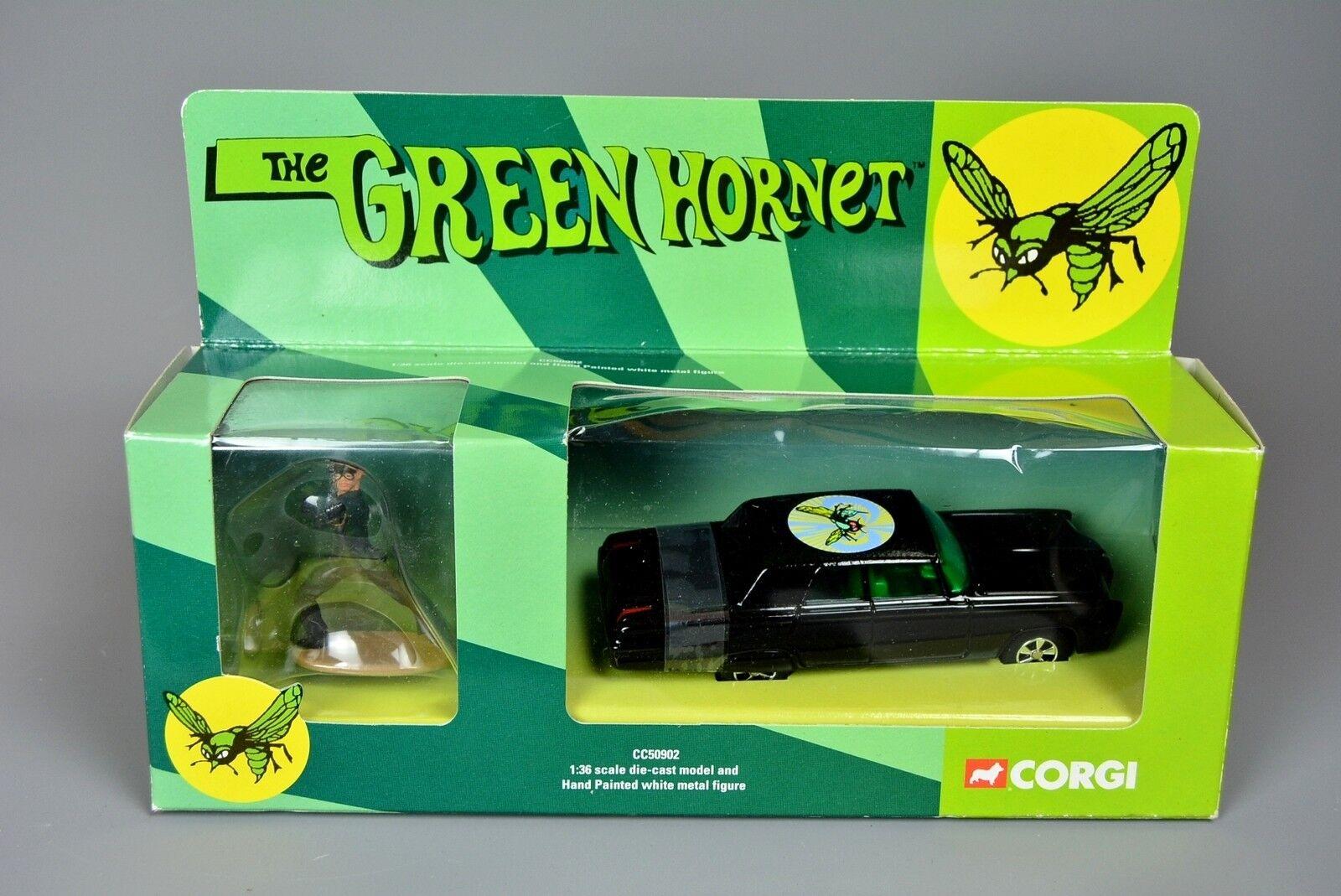 R&L Diecast  Corgi CC50902 The Green Hornet Chrysler Imperial Crown, Kato Figure