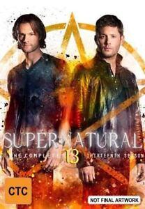 Supernatural : Season 13 (DVD, 2018, 5-Disc Set)