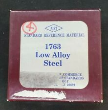 Nist Standard Reference Material 1763 Low Alloy Steel