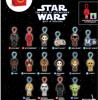 Details about  /Mcdonalds Happy Meal Toy Star Wars 2019 #11