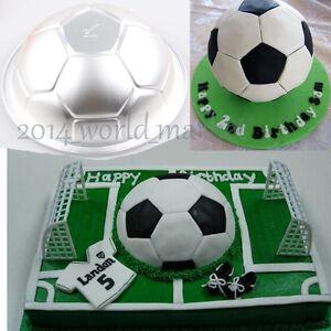 soccer ball cake pan instructions