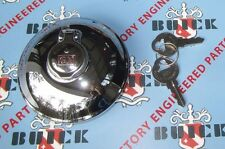 1934-1956 Buick Accessory Locking Gas Cap with 2 Keys. GM. Chrome