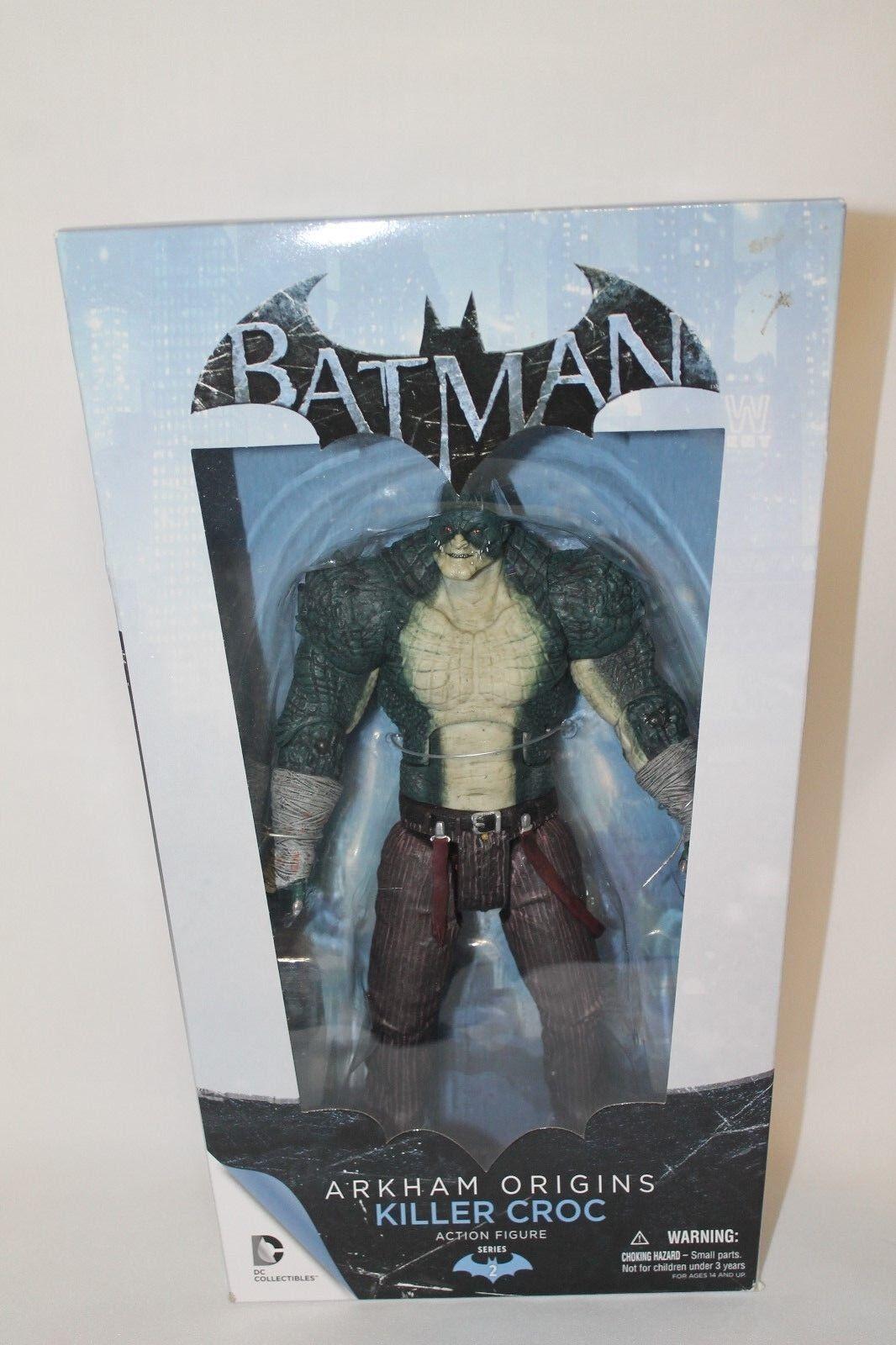 Batman arkham ursprnge reihe 2 killer croc - actionfigur dc collectibles (nib)