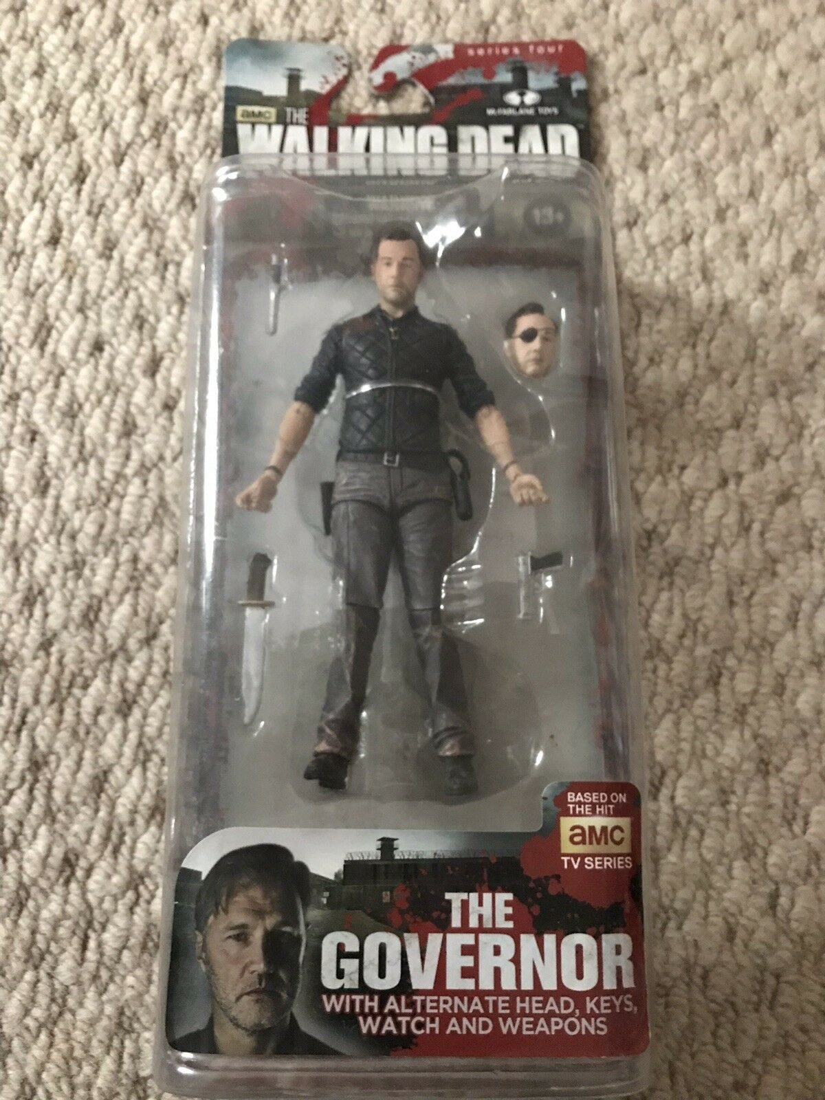 Walking Dead TV Series 4 Governor Action Figure Brand New Sealed