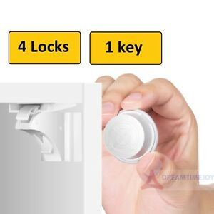 4-Invisible-Safety-Baby-Magnetic-Cupboard-Drawers-Lock-Door-Child-Baby-Pet-Proof