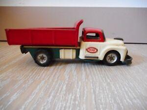 S.s.s. Sanesu Dodge Dump Truck Japon Japan Friction Sss Camion Vintage Toy Jouet Performance Fiable