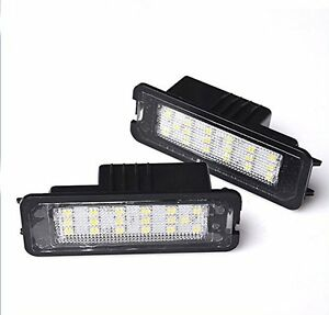 LED-CanBus-License-Licence-Number-Plate-Light-Lamp-fit-VW-Passat-CC-2009-gt