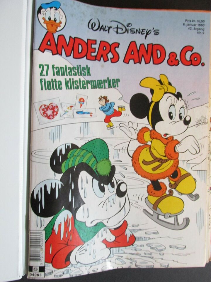Tegneserier, Anders And & Co. 1990