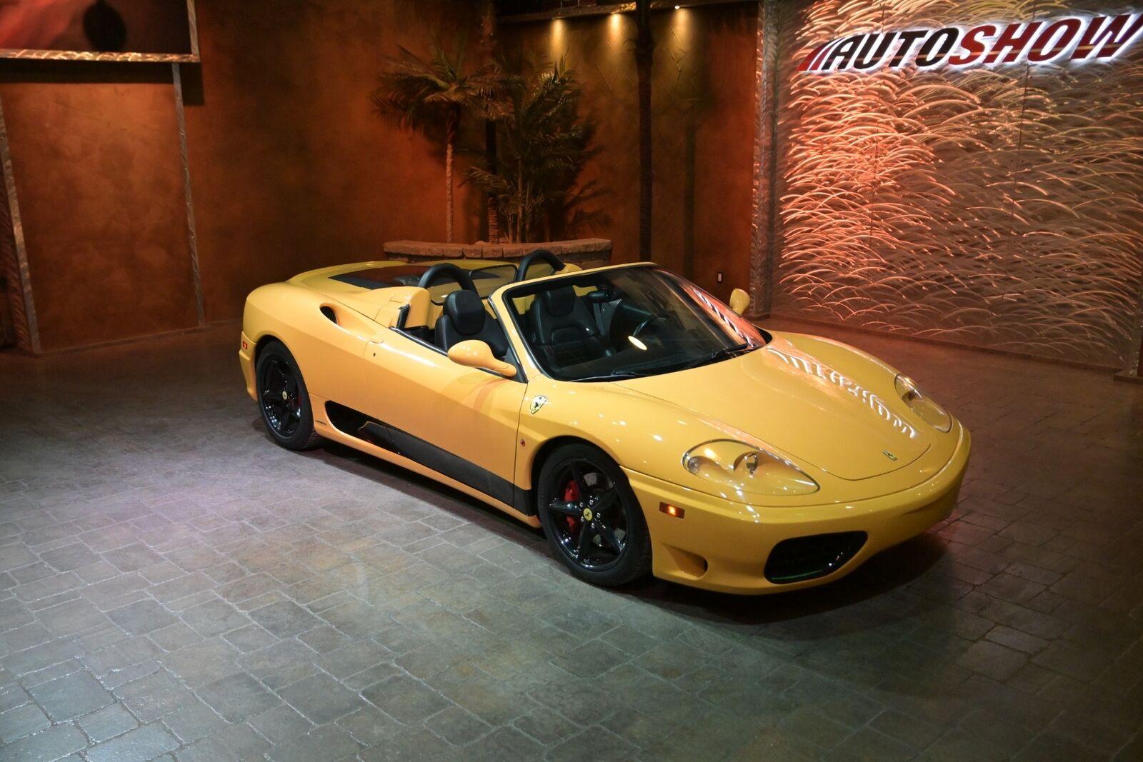 2002 Ferrari 360 Spider - Exotic Low Mileage, Capristo Exhaust, Bab
