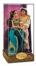Disney Store Limited Edition Designer Fairytale Couples Jasmine Aladdin Doll new