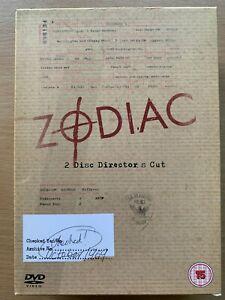 Zodiac-DVD-True-Life-Serial-Killer-Classic-Director-039-s-Cut-UK-DVD-w-Slipcover
