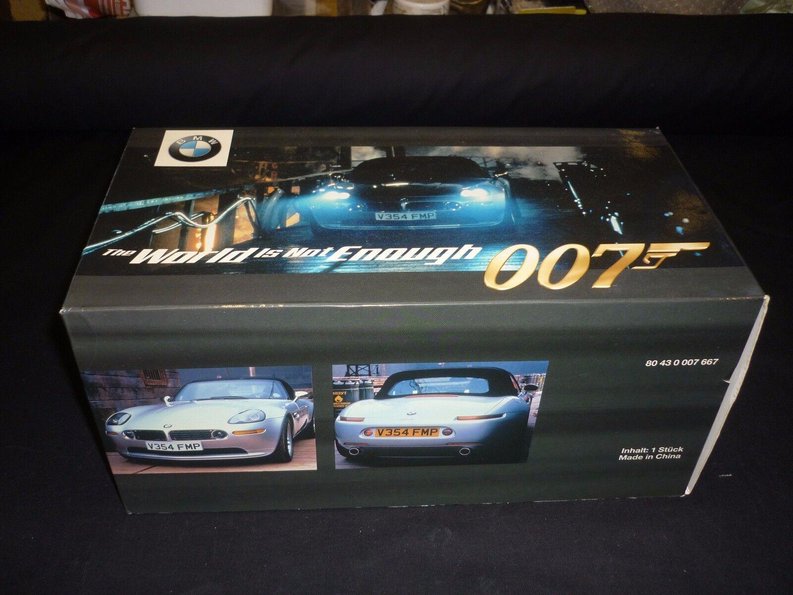 KYOSHO James Bond BMW Z8, il mondo non basta, Scala 1/18, in scatola