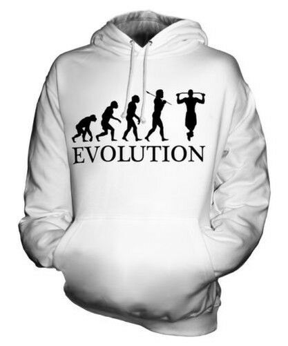 Hochziehen Evolution Of Man Unisex Kapuzenpullover Herren Damen Geschenk Bar