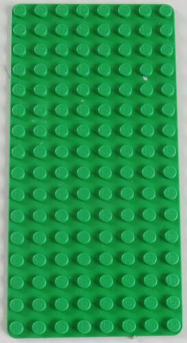leuchtend grün # 3865 LEGO Grundplatte Baseplate 8 x 16