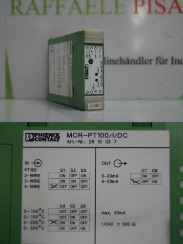 Phoenix Contact MCR-PT100//I//DC 2810337