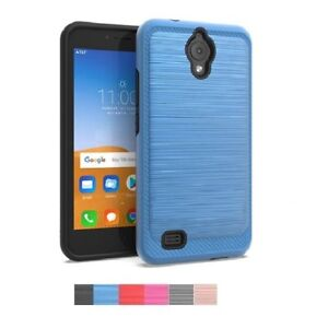 Details about Phone Case for AT&T AXIA / AT&T AXIA (Cricket Vision),  Brushed Style Cover Case