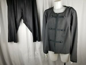 c6a447a9b288bf Torrid lot (2) fitted military jacket woman faux leather bow back ...
