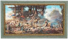 """THE INVITATION - CANVAS - Hand Signed by Tom duBois - 10"""" x 20"""" Image - Framed"""