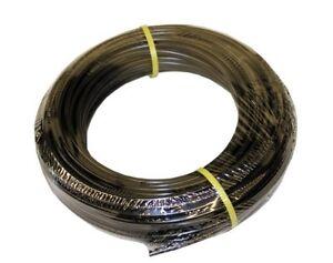"ATP Value-Tube LDPE Plastic Tubing, Black, 1/4"" ID x 3/8"" OD, 100 feet Length, N"