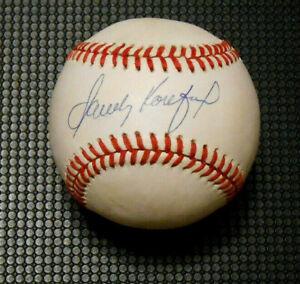 Sandy Koufax Signed Rawlings National League Baseball - Gem Mint 10 PSA/DNA