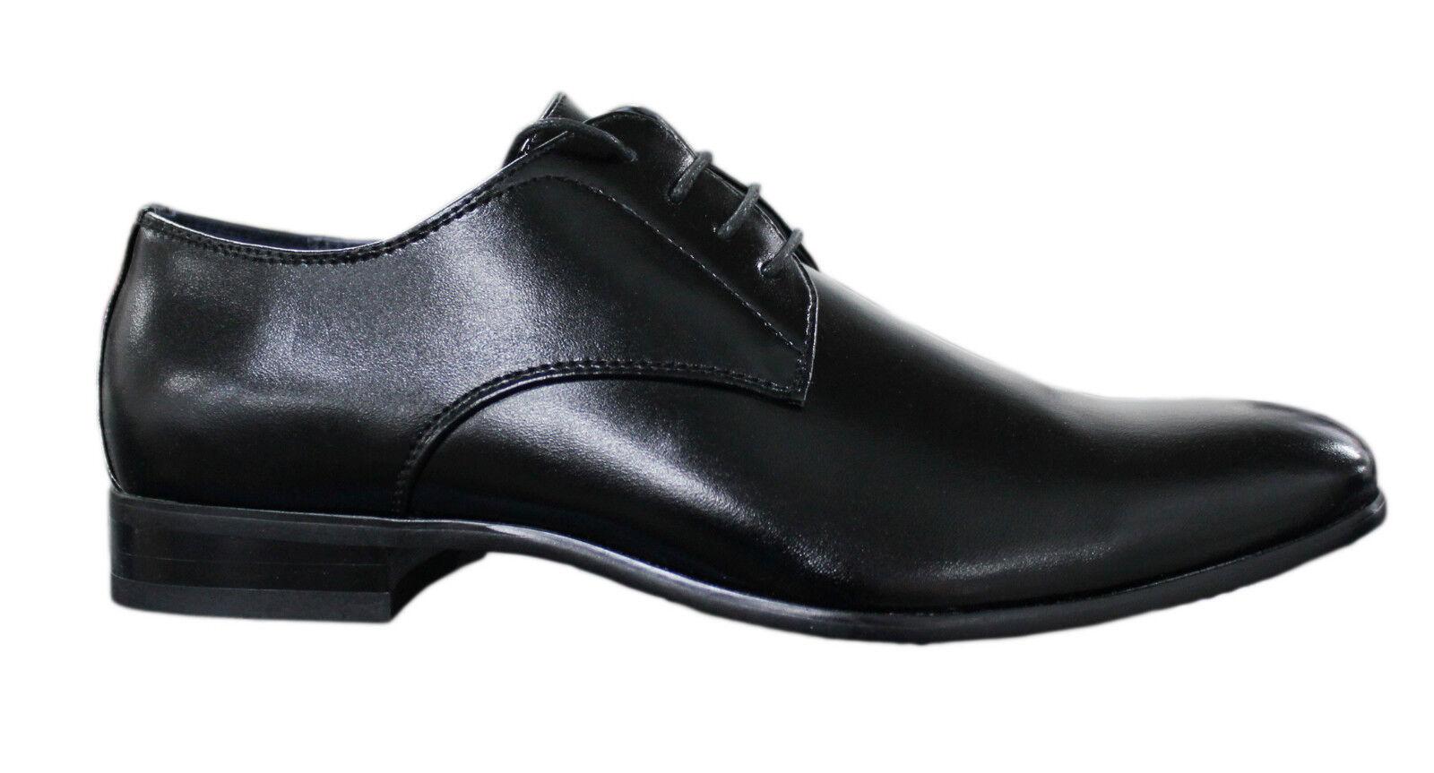 shoes men LINEA CLASSICA black ELEGANTI HIGH CLASS CERIMONIA num. da 39 a 45