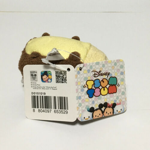 "2.4/"" Licensed Disney Tsum Tsum Chip Squirrel Mini Plush Toys Soft Stuffed Doll"