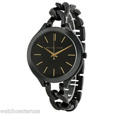 Michael Kors MK3317 Black Slim Runway Women's Watch
