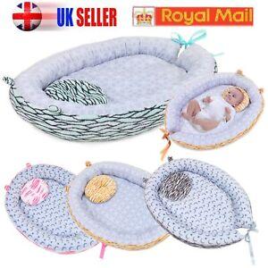 Portable-Baby-Pillow-Sleep-Cushion-Pad-Newborn-Crib-Nest-Bed-Mattress-Breathable