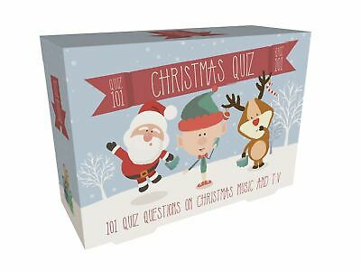 101 Festive Christmas Music TV Quiz Games After Dinner Party Fun Stocking Filler