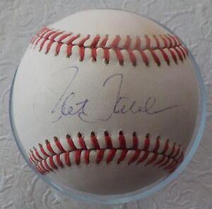 Pat Tabler Autographed American League Baseball