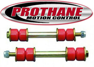 Universal End Link Bushing Kit Prothane 19-417 Universal End Link Bushing Kit Red Length 6 1//8 in