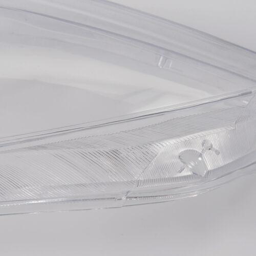 For Mercedes Benz w221 130 Pair Driver Headlight Headlamp Lense Clear Lens Cover