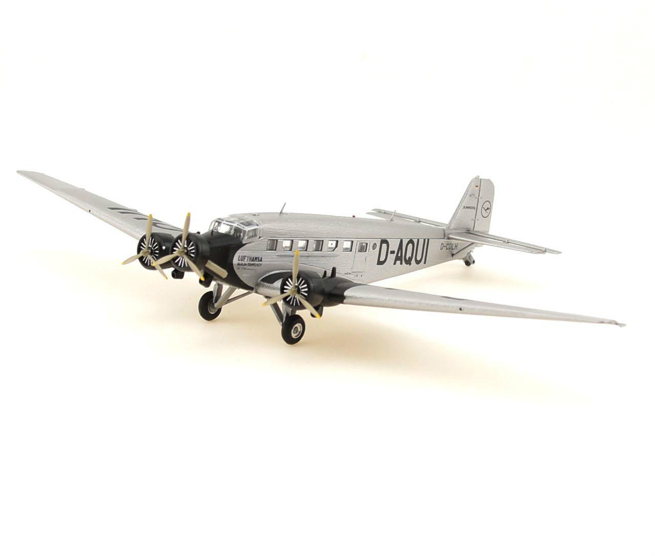 Herpa 1 160 - 019040  Junkers ju-52  Lufthansa  BERLIN TEMPELHOF-NEUF + neuf dans sa boîte