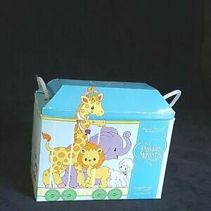 Precious Moments Lamb Figurine 15946 Birthday Train 1 Year Old New In Open Box