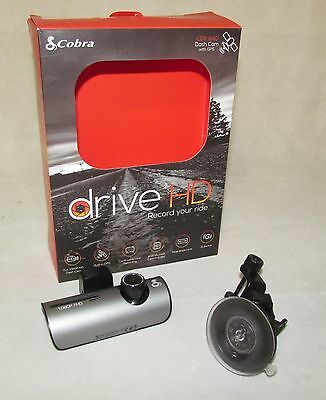 Cobra 1080P HD Dash Camera With GPS - CDR840 IP1944