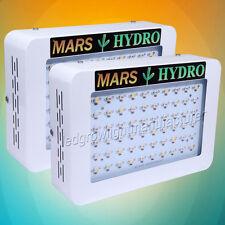 2PCS Mars Hydro 300W Led Grow Lights Full Spectrum Hydroponic Veg Flower Plant