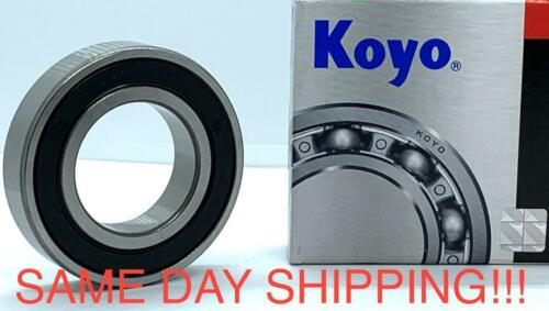 KOYO 60//28-2RS Rubber Sealed Model Radial Ball Bearing 28x52x12 mm 60// 28 2RS