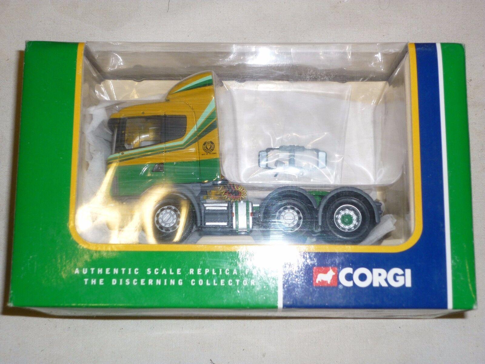 Corgi, CC 12206 Scania Scania Scania tractor unit, MacFarlane transport ltd, boxed 6c31a2