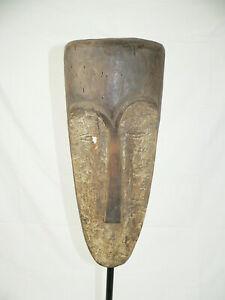Holz Maske-FANG-Gabun Afrika incl. Eisenständer   Afrika   Maske  selten