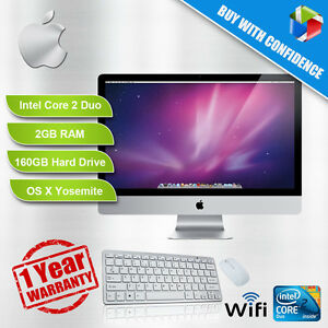Apple-Imac-A1224-50-8cm-Core-2-Duo-2-0-2-4GHZ-2GB-Ram-160-250GB-DVD-Yosemite