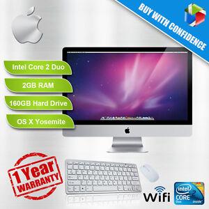 APPLE-iMAC-A1224-50-8CM-CORE-2-Duo-A-2-0-2-4GHZ-2GB-RAM-160-250GB-HDD-DVD