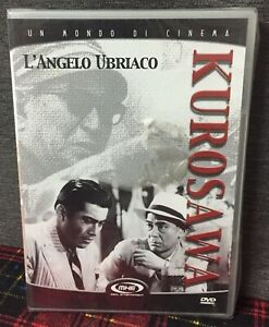 L' Angelo Ubriaco (1948) DVD Nuovo Sigillato Akira Kurosawa