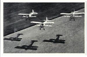Drei-deutsche-Jagdflugzeuge-Feldpost-Bahnpost-Eschwege-1940
