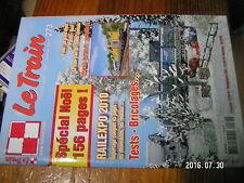 1µ? Revue Le Train n°273 Cerealier en N Neige X 4200 TCO Depot Fives Infrarail