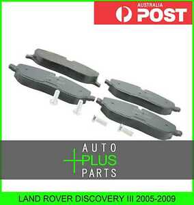 Fits-LAND-ROVER-ROVER-DISCOVERY-III-2005-2009-PAD-KIT-DISC-BRAKE-FRONT-KIT