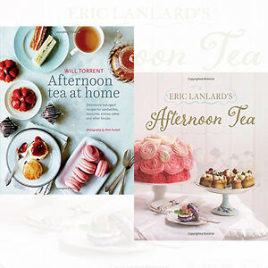 Eric-Lanlards-Afternoon-Tea-amp-Afternoon-Tea-at-Home-Collection-2-Books-Set-New